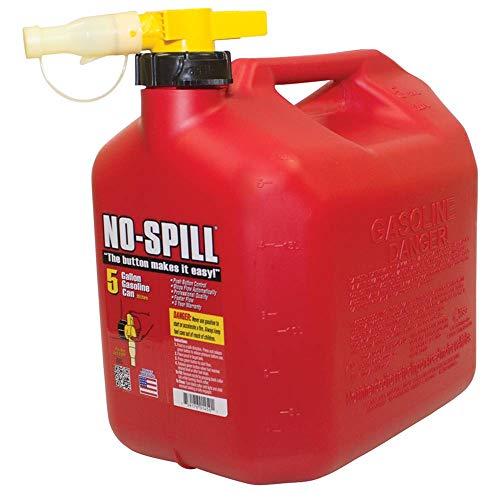 No-Spill 5-Gallon Poly Gas Can (CARB Compliant)