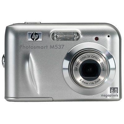 HP PhotoSmart M537 - Cámara Digital Compacta 6.3 MP (2.5 Pulgadas LCD, 3X Zoom Óptico)