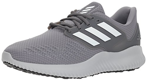 adidas Men's Alphabounce RC.2 Running Shoe, Grey/White/Grey, 11.5 M US