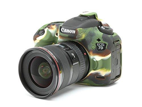 DISCOVERED イージーカバー Canon EOS 7D mark 2 用 カメラカバー 液晶保護フィルム&スクリーンプロテクター付 (カモフラージュ)