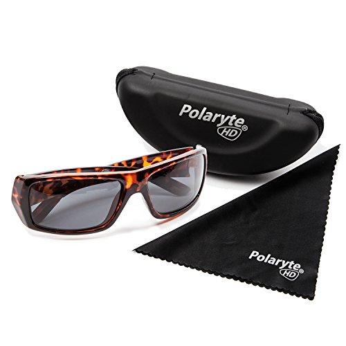 Polaryte HD–Sonnenbrille, polarisiert, HD-Sicht, Schutz vor UVA, UVB, UV400, braun