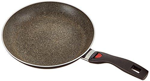 Ballarini CG5F0.28 Click plus Cook Granitium Pfanne flach 28 cm, Aluminium, schwarz / grau