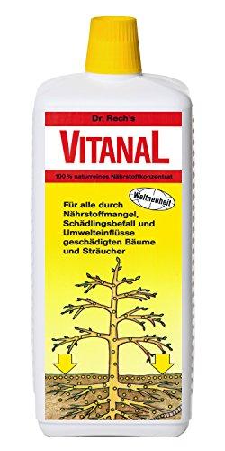 Vitanal für geschädigte Bäume für gesunde Bäume der Umwelt zuliebe !!! 1 L