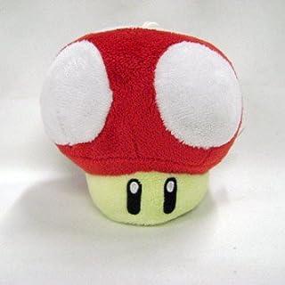 Mario Bro: XS Mushroom Plush - Red