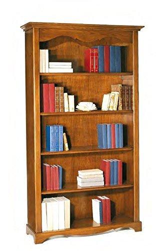 Legno&Design Bibliothèque 5 étagères Arte Povera Couleur noyer