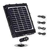 Trail Camera Solar Panel Kit - Waterproof 6-12V...