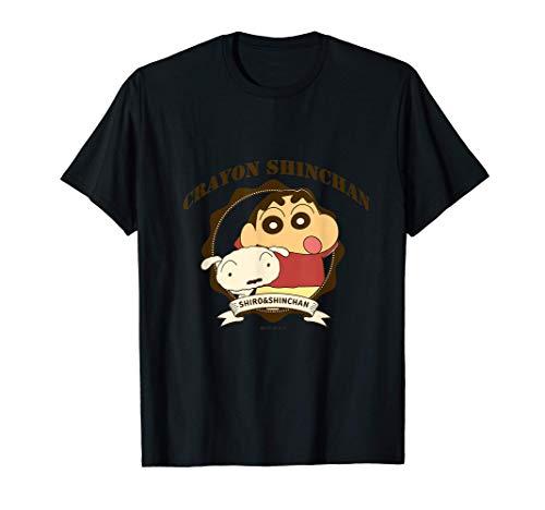 Crayon Shin-chan College Logo style Camiseta
