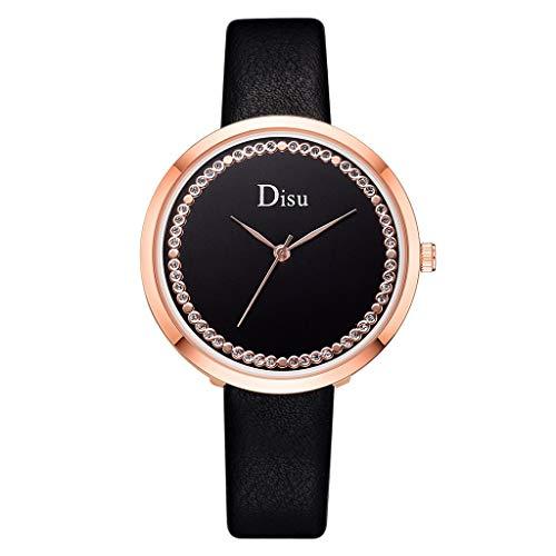 Paar Modelle Quarzuhr wasserdichte Uhr mit Action Secure Black Armband