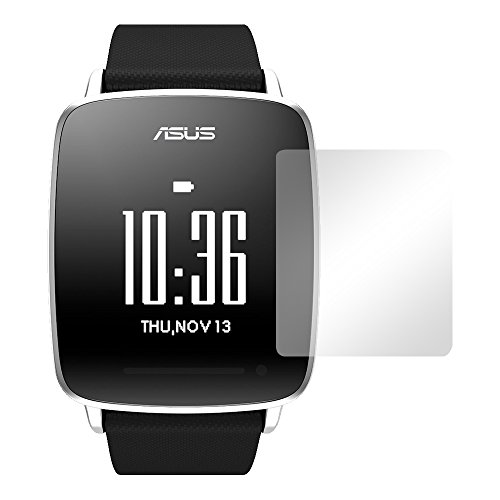 Slabo 2 x Bildschirmschutzfolie für Asus VivoWatch Bildschirmschutz Schutzfolie Folie Crystal Clear KLAR