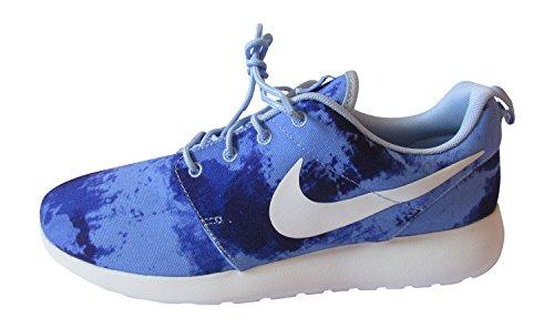 Nike Roshe Run Stampa, Uomo Scarpe Da Corsa - alluminio bianco persiano violetto 415, 7 UK / 41 EU / 8 US