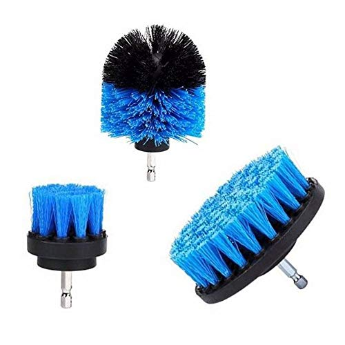 3 Pieces/Electric Cleaning Drill Brush Bathtub Basic Accessories Household Kitchen Supplies Dropping