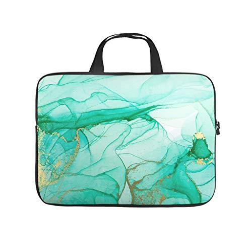 Standard Marmor Textur Laptoptaschen Schlank Wasserdicht - Laptop-Aktentasche Geeignet für Geschäftsreisen White 17 Zoll