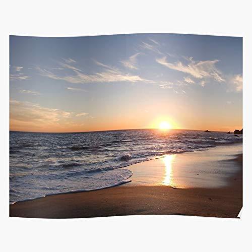 Generic Colors Popular Sunset Nice Pretty Beach Colorful Sunrise Home Decor Wall Art Print Poster !