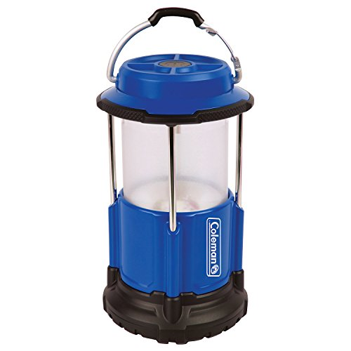 Coleman Led Lampe Pack-Away+ 250 LED Lantern, blau-schwarz, M, 2000024921