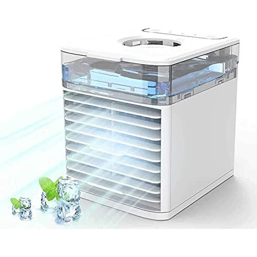 YANRU Aria Condizionata Senza Tubo, Portatile 4-in-1 Mini Air Conditioner - Crea La Tua Zona di Raffreddamento Personale Condizionatore da Auto, per Casa, Ufficio, Camera da Letto, Cucina