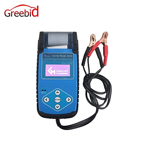 Generic ABT9A01 Automotive Battery Tester with Printer ABT9A01 Battery Tester can quickly test the battery's main specifications