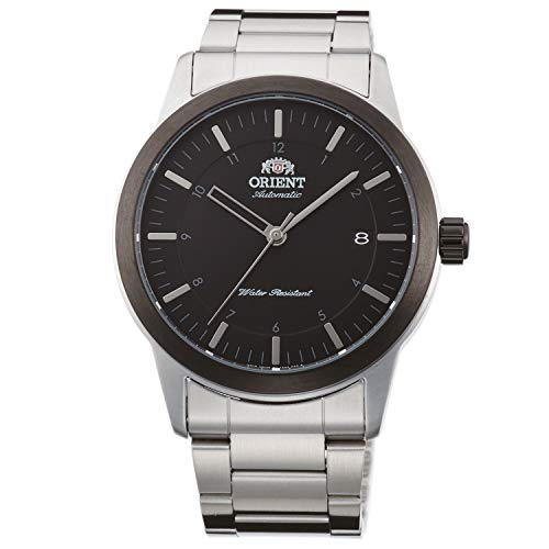 Orient Unisex Erwachsene Analog Automatik Uhr mit Edelstahl Armband FAC05001B0