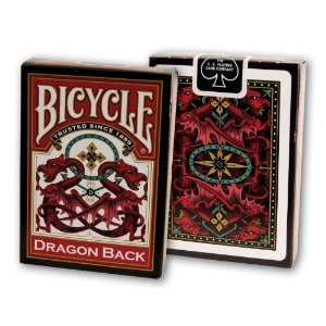 4KIDS Toy / Game Bicycle Celtic Dragon Back Playing Cards with Standard Poker-Sized Deck - Made in The U.S.A.