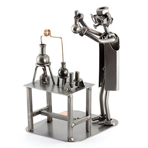 Steelman24 I Químico I Made in Germany I Idea para Regalo I Figura de metalo