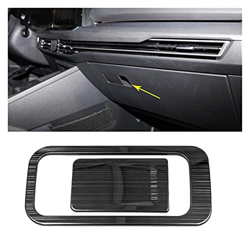 SHIJIE Cat and Mouse Accesorios Interiores de automóviles adecuados para Volkswagen Golf 8 MK8 2020 2021 LHD Recorte de ventilación de Taza de Taza, Recorte del Panel del Interruptor de la Ventana