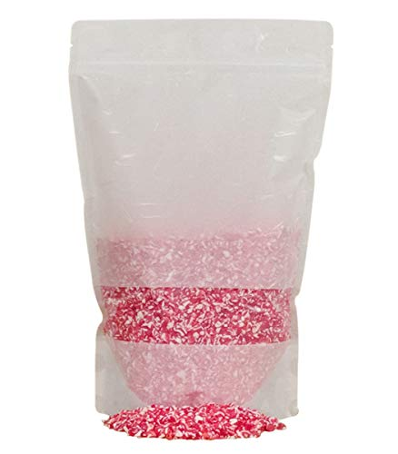 Festival Candy Cane Crunch - Crushed Peppermint Candy Topper Bits - Perfect Holiday Addition To Any Dessert Or Drink - Comes With Scoop - Christmas Cookie Decorations, Candy Cane (2LB)