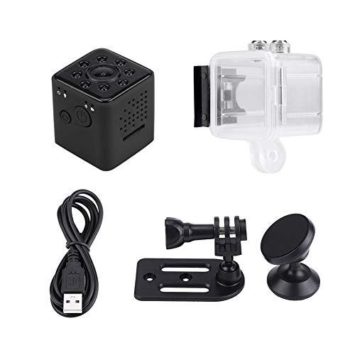 Elerose Mini telecamera WiFi, SQ23 1080P HD Camera Motion Detection Hidden DVR Cam IR Night Vision Mini videocamera impermeabile(nero)