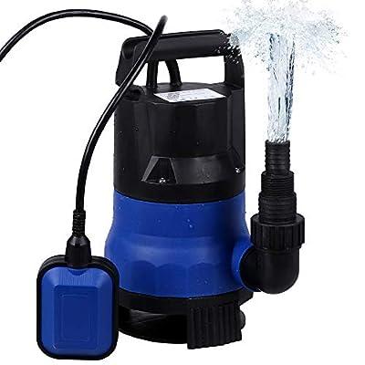 1/2HP Sump Pump Submersible Clean Dirty Water Pump