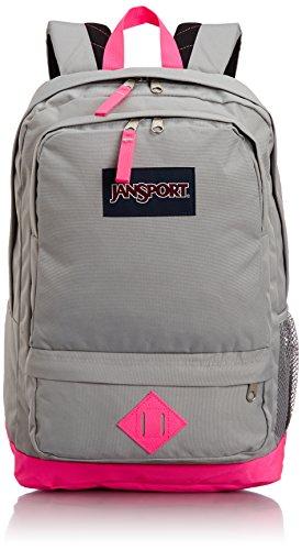 Jansport - - Unisex-Adult Allzweck-Rucksack, O/S, Fluorescent Pink