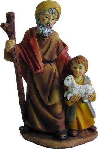 Alter Mann mit Junge, geeignet für 11cm Figuren
