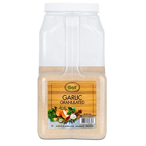 Gel Spice Garlic Granulated Food Service 5 Lb