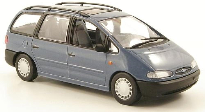 Ford Galaxy MKI, met.bluegrey, 1995, Modellauto, Fertigmodell, Minichamps 1 43