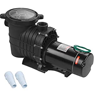 🏊ADVANCED ENGINEERING. Stainless steel 2.0 HP shaft, the PUMP BODY is constructed with reinforced thermoplastic for longer life and durability. The pool pump is made of PPGF30 + PP, 100% drip-proof, effective insulation and protection against pool ch...