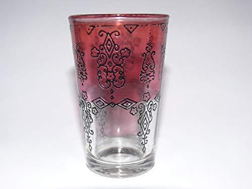 vasos orientales de menta vaso de té Marruecos decoración árabe - 905087-0134