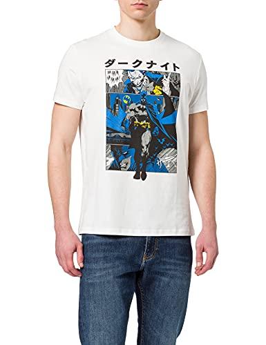 Springfield Camiseta Batman, Marfil, L para Hombre
