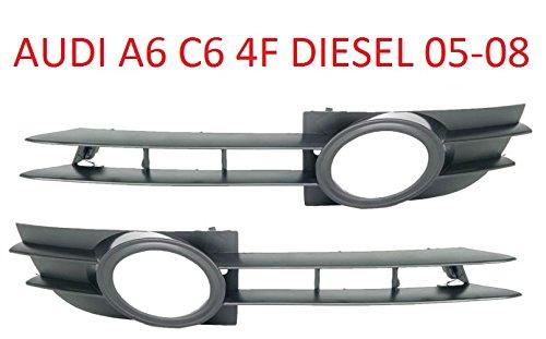 A6 C6 4F 05-08 DIESEL Stoßstange Grill Gitter Lüftungsgitter Blende SET RECHTS + LINKS