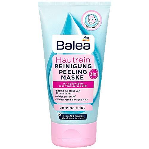 Balea Hautrein 3in1 Reinigung, Peeling und Maske, 5er Pack (5 x 150 g)