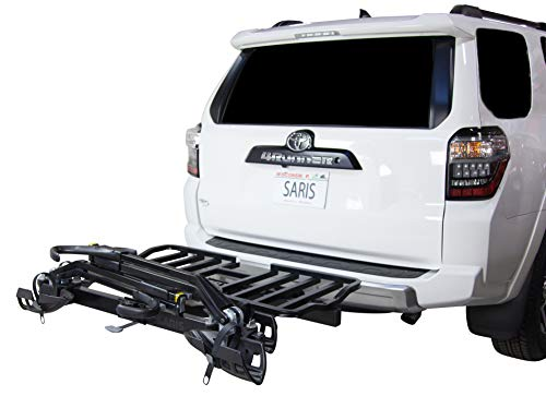 Saris Superclamp 4-Bike Hitch Car Rack