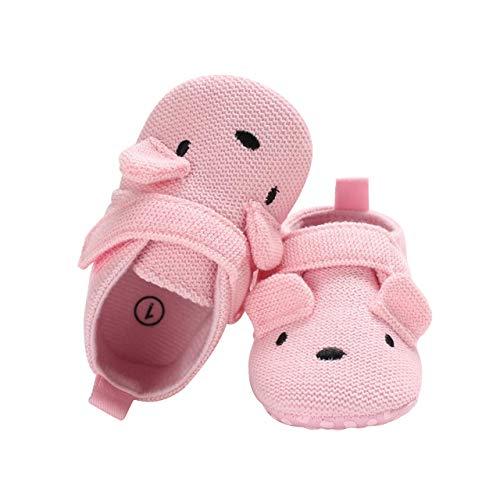 DEBAIJIA Zapatos de Bebé para 6-18 Meses Unisex Niños Niñas Primeros Pasos Pantuflas Infantiles...