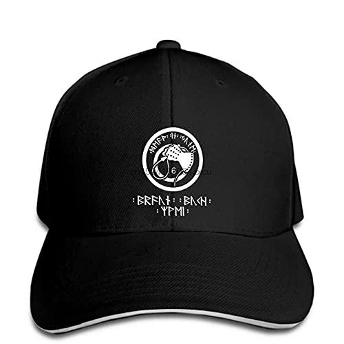FOMBV Casquette de Baseball Populaire Death in June Whip Hand Men Black Snapback Hat Peaked réglable Casual Cadeau de Chapeau de Soleil imprimé