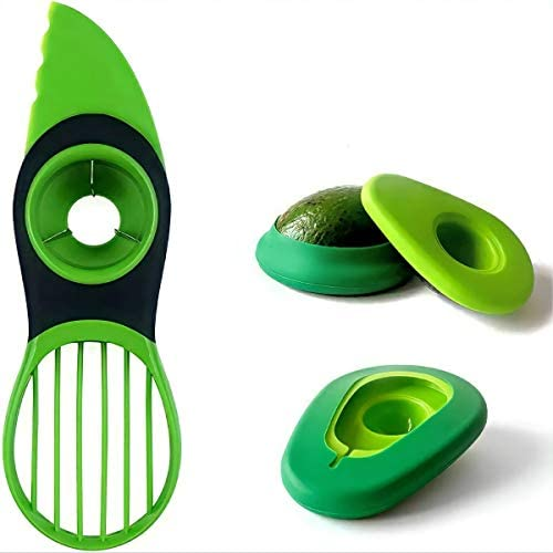 Avocado Slicer 3 in 1 Avocado Cutter tool Multifunctional Avocado peeler Avocado pitter With product image