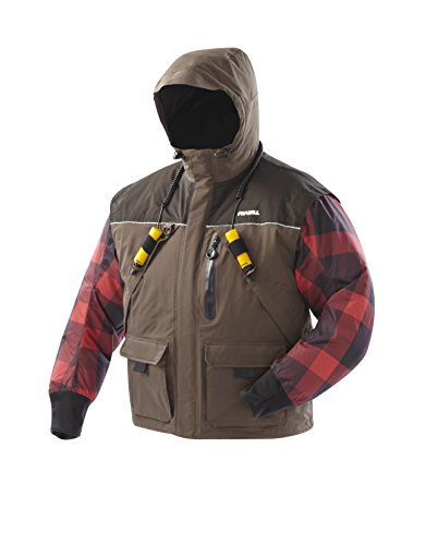 Frabill Ice I3 Jacket, Brown, Small