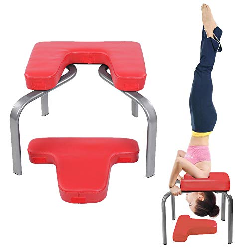 Best Price Cocoarm Yoga Headstand Bench, Fitness Yoga Inversion Bench Chair for Workout, Fitness, Gy...