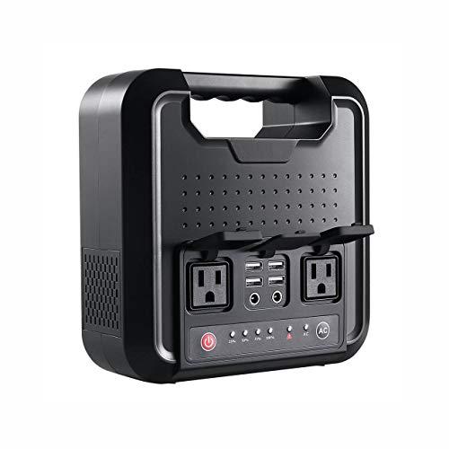 QWERTOUY Beweegbare generator wisselstroom 110 V-220 V DC 220 WH 54000 mAh powerbank voeding voor outdoor camping Home Appliance noodgevallen