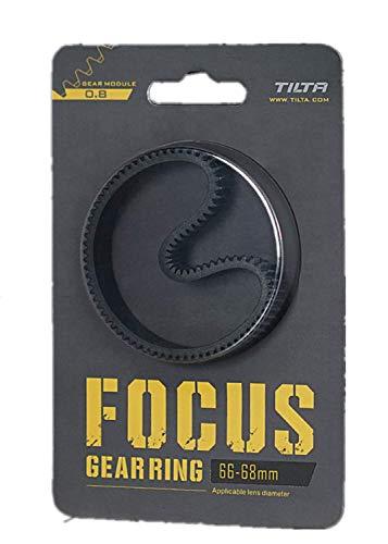 Tilta Anillo de engranaje de enfoque sin costuras de inclinación de 360 °, anillo de enfoque silencioso para cámara réflex digital SLR TA-FGR (66-68)