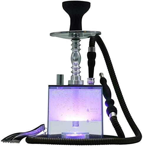 Hookah Set Modern Low price Acrylic with Silicone Cube Portland Mall Bowl