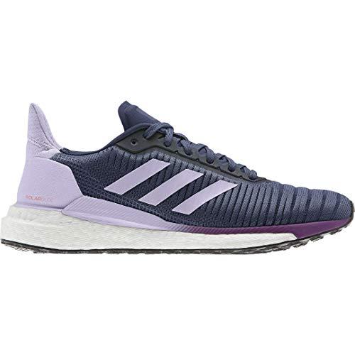 Adidas Solar Glide 19 W Zapatillas de correr para mujer, Azul (Índigo/Blanco/Púrpura Tint), 39 EU