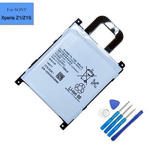 LIS1532ERPC - Batería de polímero de litio para Sony Ericsson Sony Xperia Z1 4G L39T L39U con extras