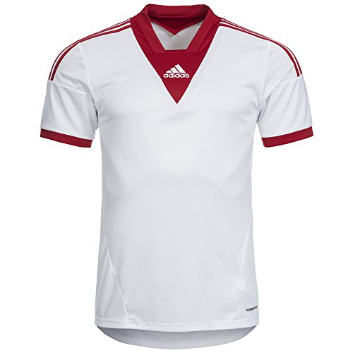 Camp Shirt Adidas, Blanc, XL