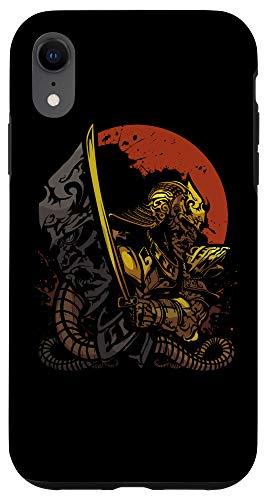 iPhone XR Japanese Samurai Bushido Ronin Warrior Katana Sword Japan...