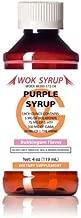Wok Syrup (4oz) Purple (Bubblegum Flavor) Relaxation Syrup